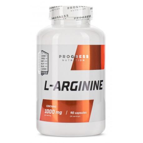 Progress Nutrition L-Arginine 1000 мг (90 капс.)