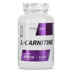 Progress Nutrition L-carnitine 1000 мг (30 таб.)