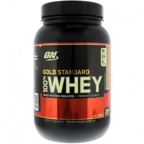 Optimum Nutrition 100% Whey Gold Standard (907 грамм)