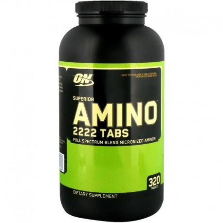 Optimum Nutrition Superior Amino 2222 (320 таб)