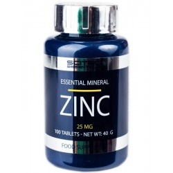 Zinc 25 Scitec Essentials (100 таблеток)