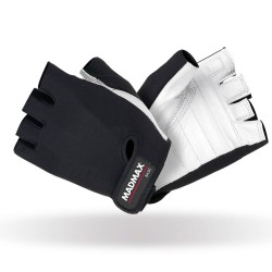MadMax Gloves Basic MFG-250 (L) White/Black