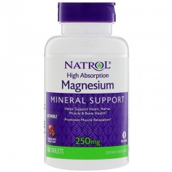 Natrol, Magnesium (250 мг.)