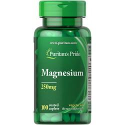 Puritan's Pride Magnesium 250 mg (100 таб.)