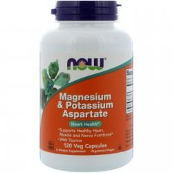 Magnesium & Potassium Aspartate (120 вег. капсул)