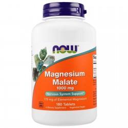 Now Foods, Magnesium Malate (180 таблеток)