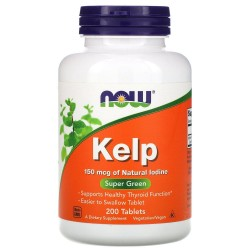 Now Foods, Kelp (200 таблеток)