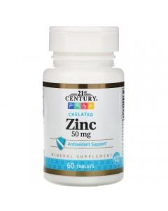 21st Century, Zinc 50 мг (60 таблеток)