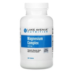 Lake Avenue Nutrition, Magnesium Complex 300 мг (250 таб.)