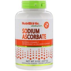 NutriBiotic Immunity, Sodium Ascorbate (227 грамм)
