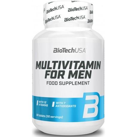 BiotechUSA Multivitamin for Men (60 таб.)