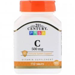 21st Century, Vitamin C 1000 мг (60 таблеток)