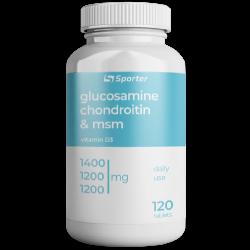 Sporter Glucosamine & Chondroitine + MSM (120 таб.)