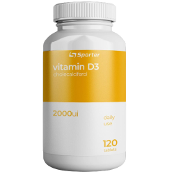 Sporter Vitamin D 2000 ME (120 таб.)