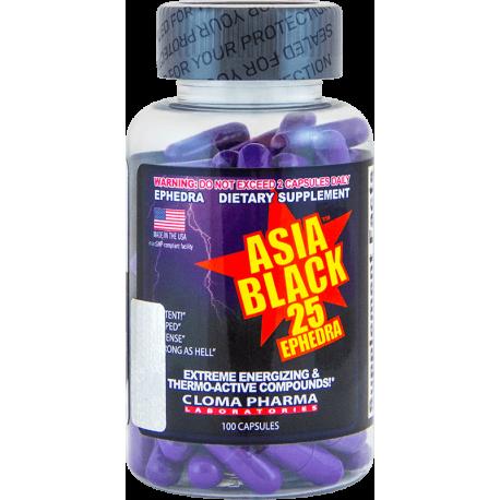 Cloma Pharma Asia Black 25 (100 капс.)