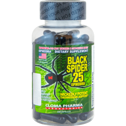 Cloma Pharma Black Spider 25 (100 капс.)