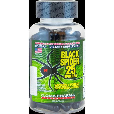 Cloma Pharma Black Spider 25 (100 капс.)