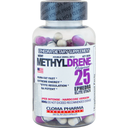 Cloma Pharma Methyldrene 25 Elite (100 капс.)