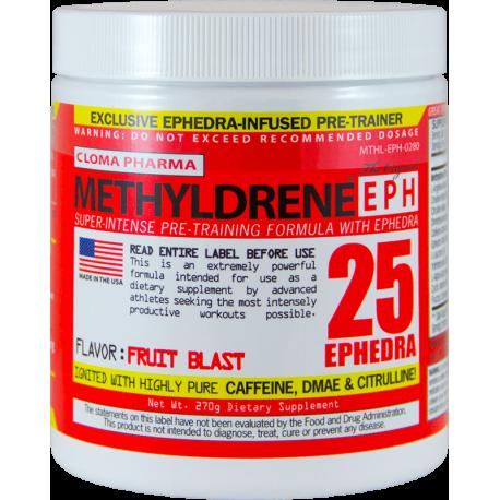 Cloma Pharma Pre-Workout Methyldrene EPH (270 гр.)