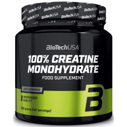 BiotechUSA 100% Creatine Monohydrate (300 грамм)