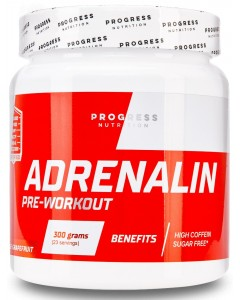 Progress Nutrition, Adrenaline (300 гр.)