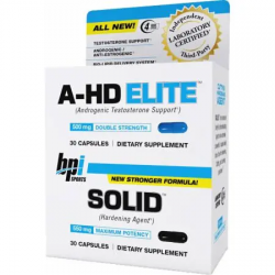 BPI Sports A-HD/SOLID COMBO FULL STACK Box