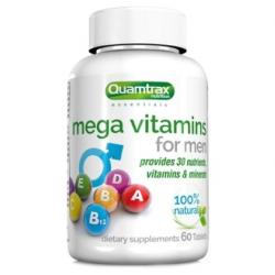 Quamtrax Mega Vitamins for Men (60 таб)