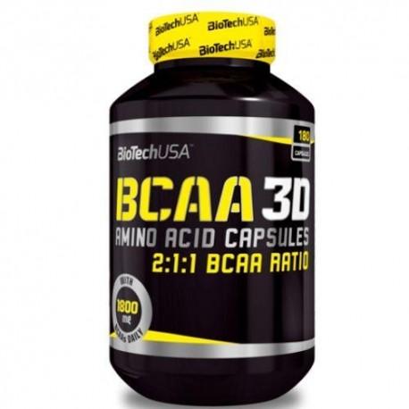 BiotechUSA BCAA 3D (180 капс)