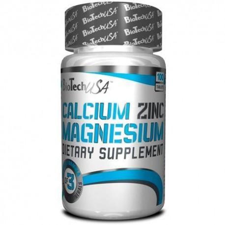 BiotechUSA Calcium Zinc Magnesium (100 таб.)
