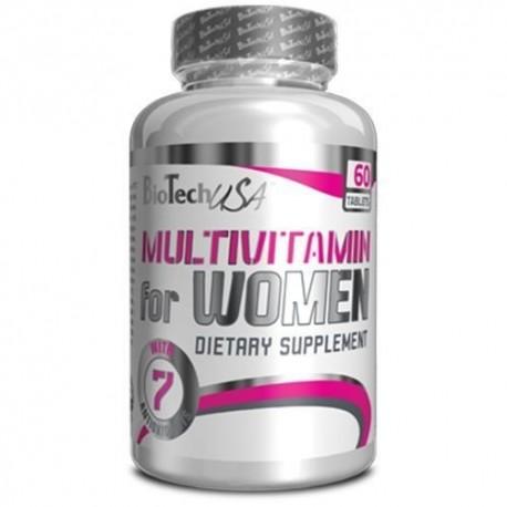 BiotechUSA Multivitamin for Women (60 таб.)