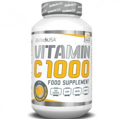 BiotechUSA Vitamin C 1000 (250 таб.)